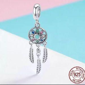 Silverskylight Jewelry - Sterling silver dream catcher blue purple jasper